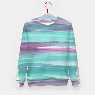 Mermaid Abstract Minimalism #1 #minimal #ink #decor #art Kindersweatshirt miniature