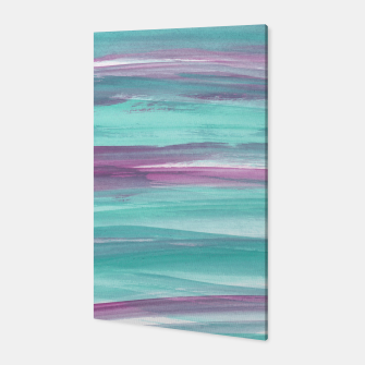 Mermaid Abstract Minimalism #1 #minimal #ink #decor #art Canvas miniature