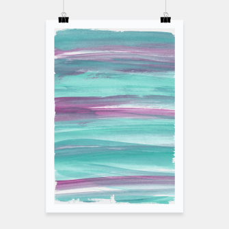 Mermaid Abstract Minimalism #1 #minimal #ink #decor #art Plakat miniature