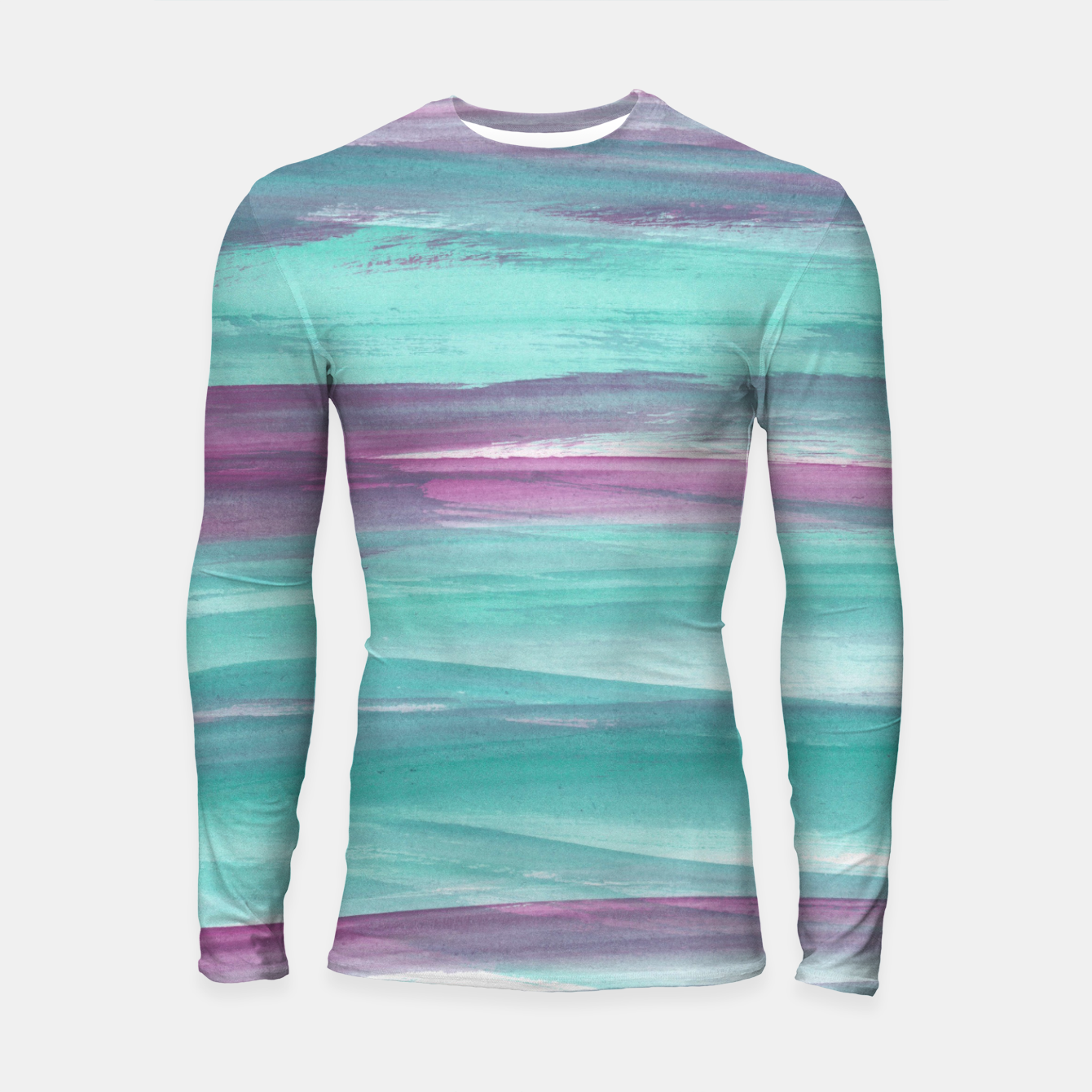 Image de Mermaid Abstract Minimalism #1 #minimal #ink #decor #art Longsleeve rashguard - Live Heroes