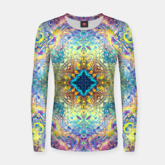 Abstract Pattern II Women sweater obraz miniatury