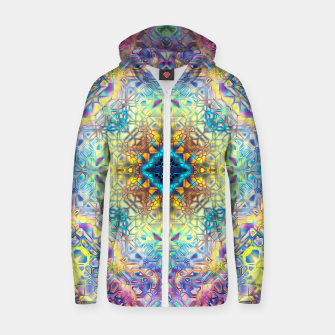 Abstract Pattern II Zip up hoodie obraz miniatury