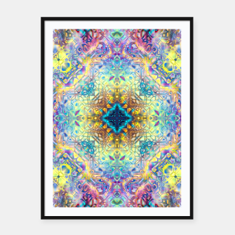 Abstract Pattern II Framed poster obraz miniatury