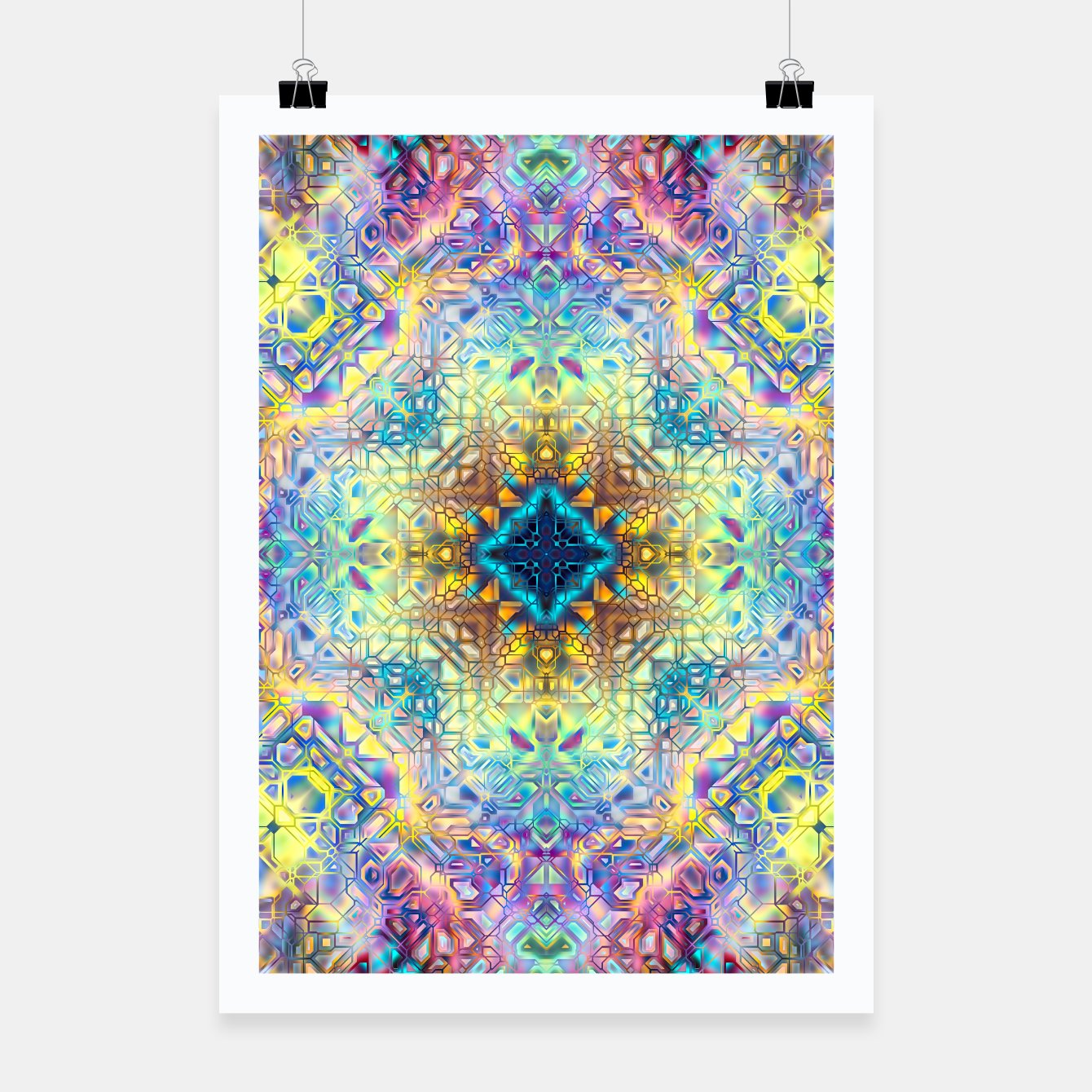 Zdjęcie Abstract Pattern II Poster - Live Heroes
