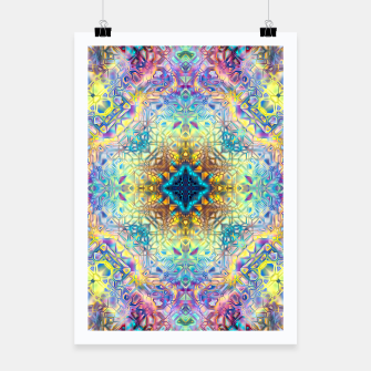 Miniaturka Abstract Pattern II Poster, Live Heroes