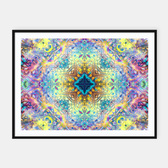 Thumbnail image of Abstract Pattern II Framed poster, Live Heroes