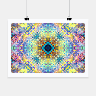 Thumbnail image of Abstract Pattern II Poster, Live Heroes