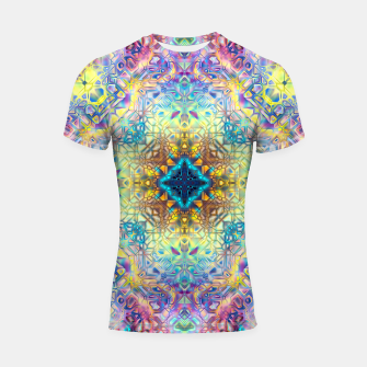 Thumbnail image of Abstract Pattern II Shortsleeve rashguard, Live Heroes