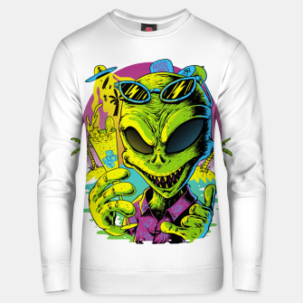 Thumbnail image of Alien Summer Vibes Unisex sweater, Live Heroes