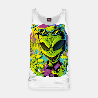 Thumbnail image of Alien Summer Vibes Tank Top, Live Heroes
