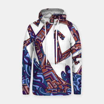 Thumbnail image of Wandering 08: color variation 3 Hoodie, Live Heroes
