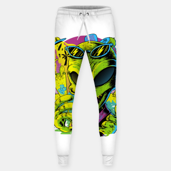 Thumbnail image of Alien Summer Vibes Sweatpants, Live Heroes