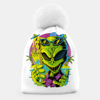 Thumbnail image of Alien Summer Vibes Beanie, Live Heroes