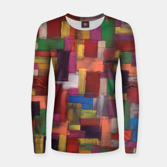 Thumbnail image of multicolor Women sweater, Live Heroes
