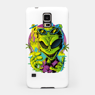 Alien Summer Vibes Samsung Case thumbnail image