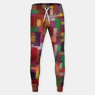 Thumbnail image of multicolor Sweatpants, Live Heroes