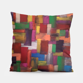 Thumbnail image of multicolor Pillow, Live Heroes