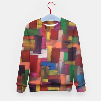 Thumbnail image of multicolor Kid's sweater, Live Heroes