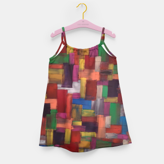 Thumbnail image of multicolor Girl's dress, Live Heroes