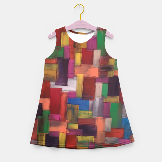 Thumbnail image of multicolor Girl's summer dress, Live Heroes
