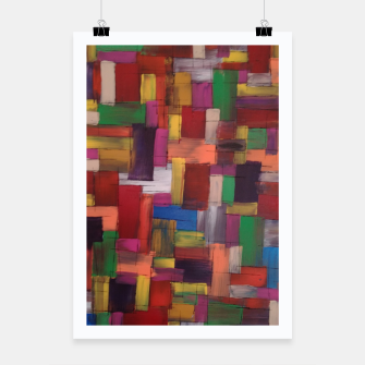 Thumbnail image of multicolor Poster, Live Heroes
