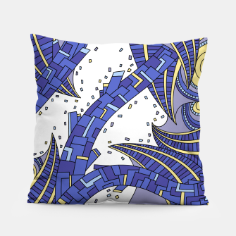 Thumbnail image of Wandering Abstract Line Art 10: Sapphire Pillow, Live Heroes
