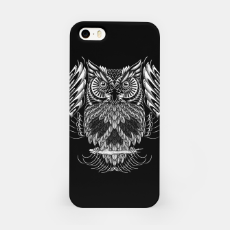 Owl Skull Ornate iPhone Case Bild der Miniatur