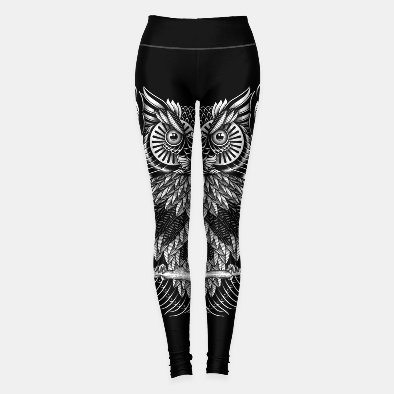 Foto Owl Skull Ornate Leggings - Live Heroes
