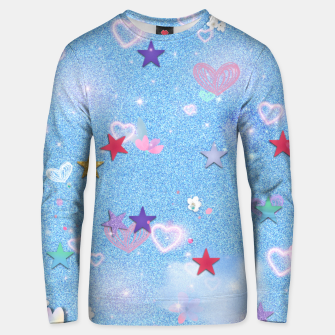 Thumbnail image of Some Cuteness 1 blue Unisex sweater, Live Heroes