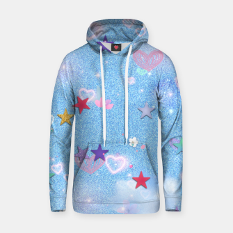 Thumbnail image of Some Cuteness 1 blue Hoodie, Live Heroes