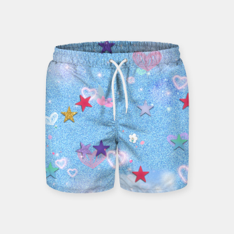 Thumbnail image of Some Cuteness 1 blue Swim Shorts, Live Heroes