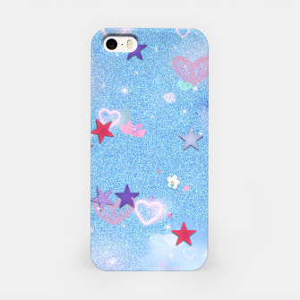 Thumbnail image of Some Cuteness 1 blue iPhone Case, Live Heroes