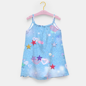 Thumbnail image of Some Cuteness 1 blue Girl's dress, Live Heroes