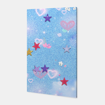 Miniature de image de Some Cuteness 1 blue Canvas, Live Heroes
