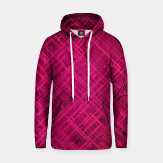 Thumbnail image of Red/Fuchsia Diagonal Line Pattern Hoodie, Live Heroes