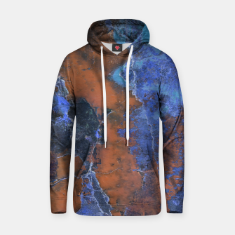 Miniaturka Grunge Colorful Abstract Texture Print Hoodie, Live Heroes
