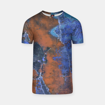 Miniaturka Grunge Colorful Abstract Texture Print T-shirt, Live Heroes