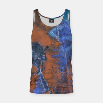 Miniaturka Grunge Colorful Abstract Texture Print Tank Top, Live Heroes