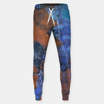 Miniaturka Grunge Colorful Abstract Texture Print Sweatpants, Live Heroes