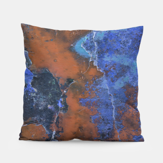 Miniaturka Grunge Colorful Abstract Texture Print Pillow, Live Heroes