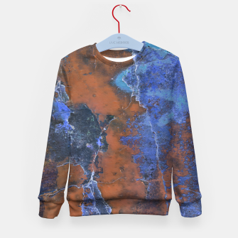 Miniaturka Grunge Colorful Abstract Texture Print Kid's sweater, Live Heroes