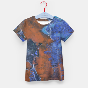 Miniaturka Grunge Colorful Abstract Texture Print Kid's t-shirt, Live Heroes