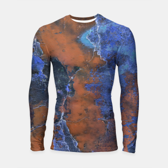 Thumbnail image of Grunge Colorful Abstract Texture Print Longsleeve rashguard , Live Heroes