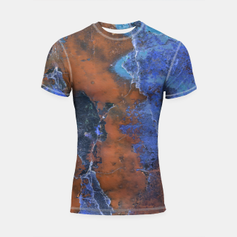 Miniature de image de Grunge Colorful Abstract Texture Print Shortsleeve rashguard, Live Heroes
