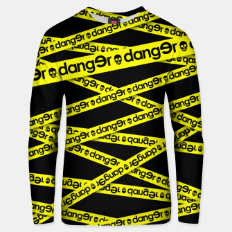 Thumbnail image of ATTENTION DANGER Sudadera unisex, Live Heroes