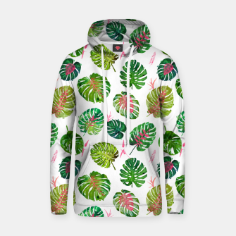 Thumbnail image of Monstera Love II Hoodie, Live Heroes