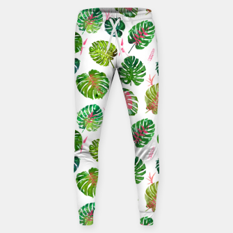 Thumbnail image of Monstera Love II Sweatpants, Live Heroes