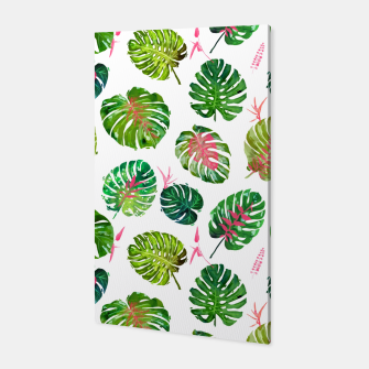 Miniature de image de Monstera Love II Canvas, Live Heroes