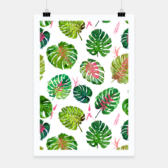 Thumbnail image of Monstera Love II Poster, Live Heroes
