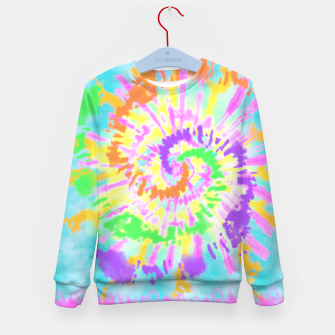 Thumbnail image of colorful mood Kid's sweater, Live Heroes